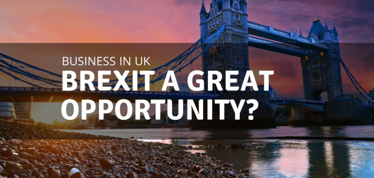 Brexit a great opportunity?