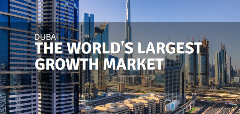 Dubai international qrowth market