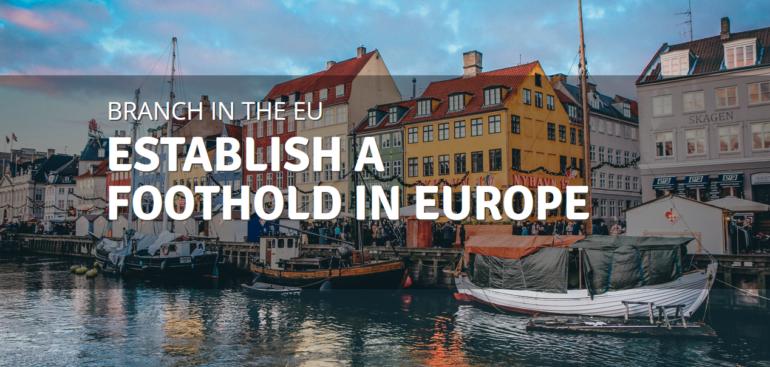 Estabslish a foothold in Europe, Denmark