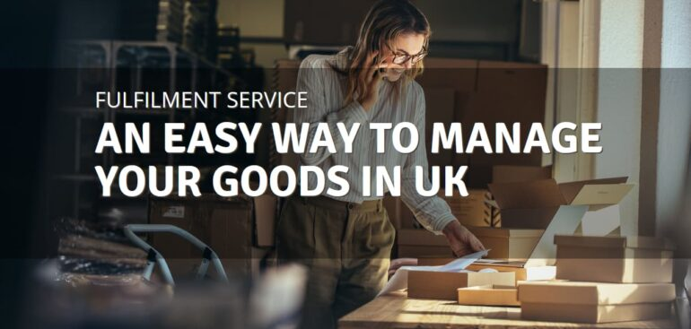 Fulfilment service in UK